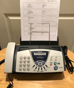 Brother Fax 575 Personal Plain Paper Fax Phone And Copier With Ink Cartridge