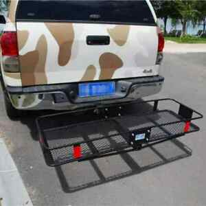 Universal Black Roof Rack Extension Folding Cargo Luggage Hold Carrier Basket