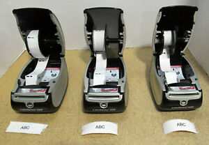 Lot Of 3 Dymo Label Writer 450 Label barcode Thermal Printer 1750110 Tested