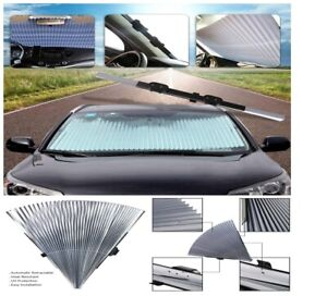 Universal Car Auto Sun Shade Cover Retractable Front Windshield Uv Protection