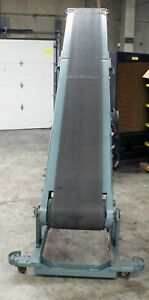 10 Hytrol Model Ba Portable Folding Incline decline Belt Conveyor