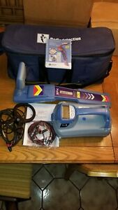 Radiodetection Spx Rd7000 Dl Tx 3 Pipe Cable Utility Locator Case Clamp Clean
