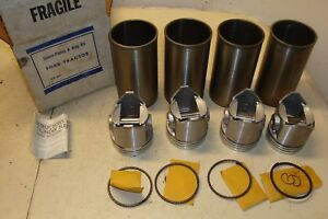 Ford 600 Tractor Sleeve Piston Ring Kit Pk14g1
