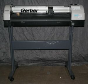 Gerber Fastrack 650 High speed 34 Wide format Plotter Cutter With Stand