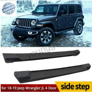 Running Boards Side Steps Fits For 2018 Jeep Wrangler Jl Sahara Rubicon