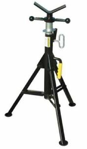 Sumner Pipe Stand Foldable Adjustable Jack Support Plumbing Piping Tool V head