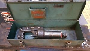 Burndy Ycc 1 Cable Cutter Hydraulic With Case