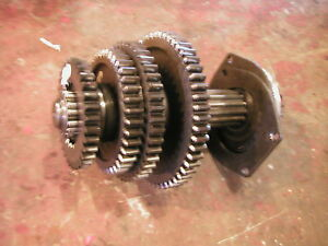 Farmall 560 Tractor Set Of Upper Top Transmission Gears Main Drive Shaft