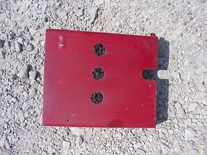 Farmall 560 460 Tractor Original Ih Ihc 3 Hydraulic Valves Cover Panel