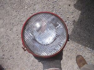 Farmall Ih Massey Tractor Big 7 Front Head Light