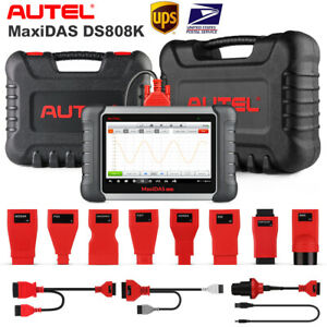 Autel Maxidas Ds808k Obd2 Code Scanner Auto Diagnostic Tool Upgraded Of Ds708 Us