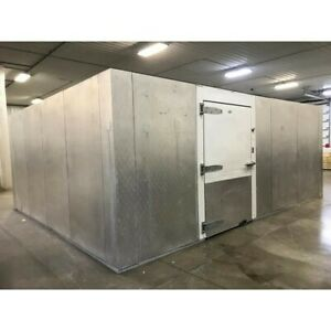 Used 17 X 24 X 10 Walk In Cooler Or Freezer Remote