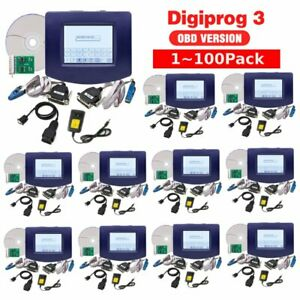 Lot 1 100 Pack Car Odometer Digiprog 3 Obd Cable Digiprog3 V4 94 Correct Tool Vi