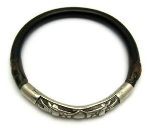 Antique Chinese Carved Fine Silver Bamboo Bangle Dragon Heads Pearl Orb