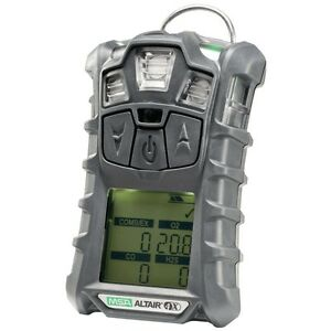 Msa Altair 4x Gas Meter Monitor Detector O2 h2s co lel Charger