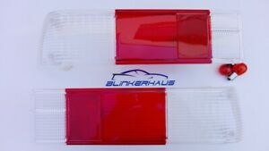 Opel Rekord C Commodore A Olimpico Gm Ranger A Clear red Tail Lights Lenses