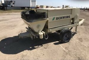 2005 Schwing Bpa500 Concrete Pump Fully Reconditioned Runs And Pumps
