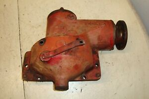 Farmall H Tractor Belt Pulley Drive Assembly