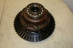 Farmall H Tractor Rear Differential Ring Gear Assembly