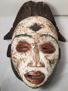 Large Beautiful Wooden Tribal Mask