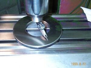 Bridgeport Type Milling Machine Tramming Ring And Tabletool Tray Limited Time