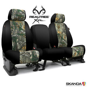 2019 Ram 1500 Crew Cab Truck Seat Covers Coverking Realtree Xtra Full Set