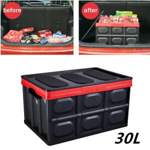 30l Type Multi function Car Trunk Move Organizer Storage Box Tool Pack Oversized