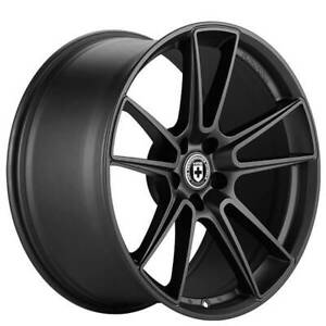 4 Set 19 Staggered Hre Wheels Ff04 Tarmac Flow Form Rims