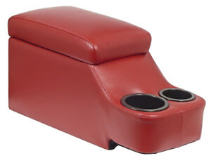 New Humphugger Removable Console Fairlane Galaxie Maverick Mustang Coupe Red