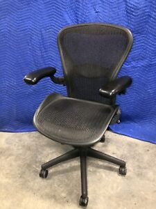 Herman Miller Aeron Chair Black B Shipping Available Contact Us