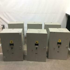 Staco Avr Voltage Regulator Power Conditioning lot Of 6 1ph 50 60hz 40amp 10kv