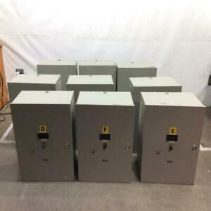 Staco Avr Voltage Regulator Power Conditioner lot Of 9 1ph 50 60hz 40amp 10kv