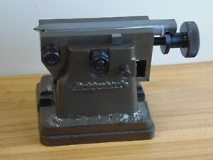 Bridgeport Milling Machine Rotary Table Tailstock 5 6 Center Height W Riser