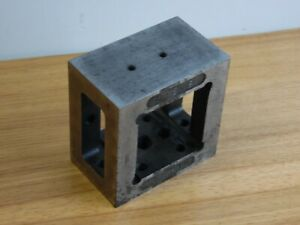 Square Cube Setup Block platre Hollow Tapped Milling grinding machinist