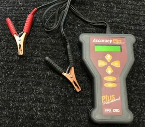 Otc Accuracy Plus Battery Starter Charging System Tester Stock 312