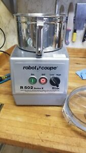 Robot Coupe R502 Food Processor Only Has Been Used Twice Comes With All Parts