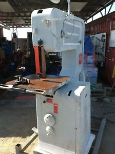 Doall Vertical Band Saw Model 3012 u