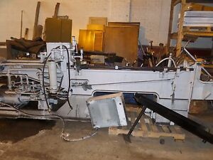Broach Lapointe Horizontal Broaching Machine 60 Inch Pull Broach 15 Ton