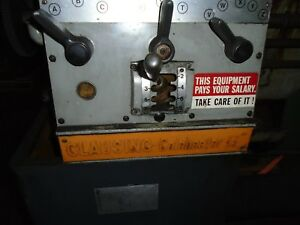 Clausing Colchester 13 Inch Metal Lathe Clutches