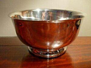 Fisher Sterling Silver 237 Paul Revere 1768 Reproduction 7 Bowl 925