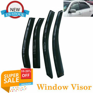 For Ford Fusion 2006 2007 2008 2009 2010 2011 2012 Window Visor Smoke Tint Set