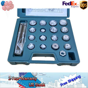 Valve Seat Reamer Motorcycle Repair Displacement Cutter Valve Tool Set With Case