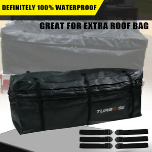 Quakeworld Rainproof Waterproof Luggage Tow Trailer Rear Hitch Cargo Carrier Bag