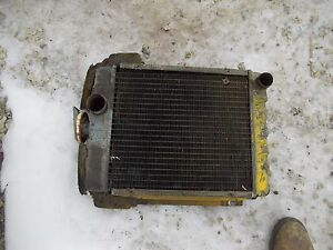 International Cub 154 Low Boy Tractor Ih Good Working Radiator Assembly W Cap