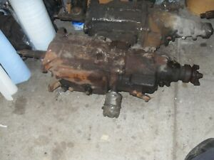 Chevy Saginaw 3 Speed Transmission With Overdrive C 10 Truck