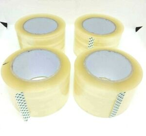 Carton Sealing Clear Packing Tape 3 X 110 Yards Choose Your Rolls 2 Mil
