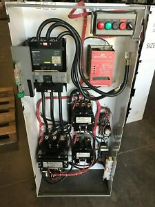 Square D Model 6 Size 5 Starter W 225 Amp Circuit Breaker
