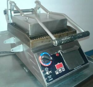 Star Pro max Cg10it 10 Commercial Grooved Two sided Panini Press W Timer 3