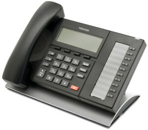 Toshiba Business Speaker Phone Telephone Lcd Display 10 Button 4 Line Dp5022 sd