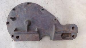 1928 Model A Ford Front Engine Timing Cover Plate Original W Pin